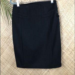 Express black pencil skirt. NWT